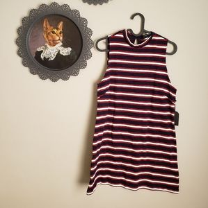 FOREVER 21 |New with Tags striped mini dress